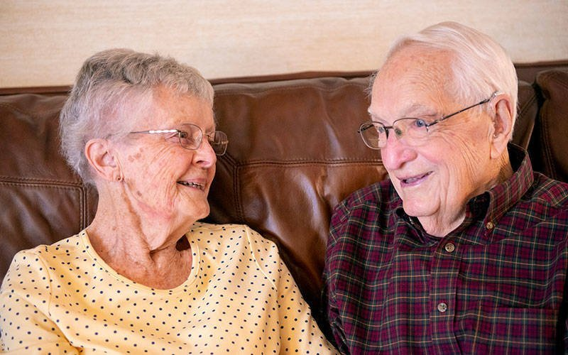 Walter and Irene Mace of Canandaigua will celebrate 75 years of marriage in October.