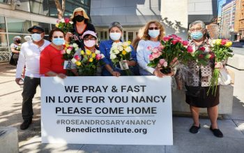 """The """"Rose and Rosary for Nancy"""" prayer campaign was launched by Archbishop Salvatore J. Cordileone of San Francisco."""