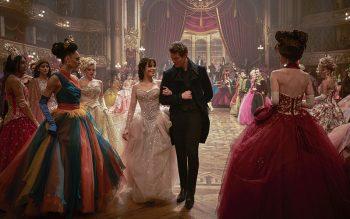 """Camila Cabello and Nicholas Galitzine star in a scene from the movie """"Cinderella."""""""