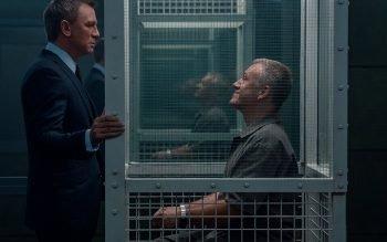 Daniel Craig and Christoph Waltz