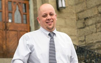 """Thomas """"TJ"""" Verzillo has been named the new principal of Holy Cross School in Rochester. (File photo)"""